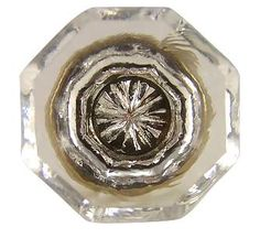 kitchen cabinet hardware 1 14 inch old town crystal cabinet knob antique