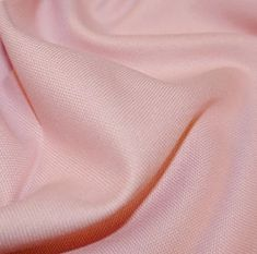 Light Pink cotton canvas, medium weight, A great fabric for creating bags, craft items, with a lovely feel and drap Width (cm): 140 Width (inch): 55 Wash: 30 degrees Iron: medium Tumble dry: low Do not bleach.