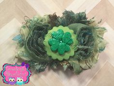 A personal favorite from my Etsy shop https://www.etsy.com/listing/261470162/green-hair-bow-st-patricks-day-hair-bow
