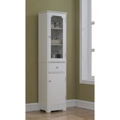 "Found it at Wayfair - 15.75"" x 63.88"" Free Standing Linen Tower"