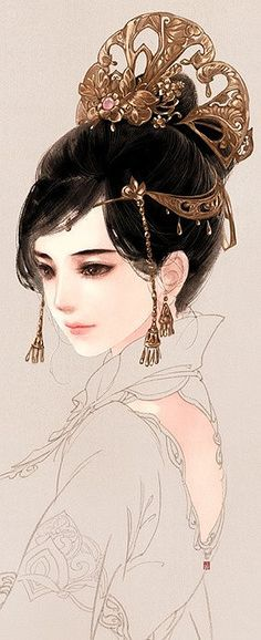 아름다운 머리 조각 - 美丽的发片