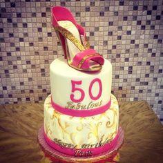 50th Birthday cake.
