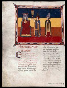 Beato de Liébana. Beato de Liébana , Santo — Manuscrito — 1047  449