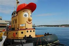 Halifax, Nova Scotia - this is the tugboat that took our cruise ship out of the port