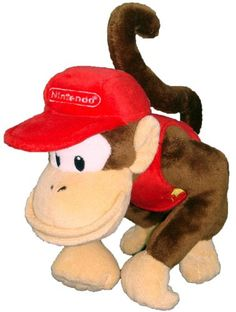 Black Friday 2014 Nintendo Official Super Mario Diddy Kong Plush, from Nintendo Cyber Monday. Black Friday specials on the season most-wanted Christmas gifts. Donkey Kong, Super Mario Bros, Super Mario Brothers, Super Nintendo, Nintendo Games, Diddy Kong, Japanese Imports, Mario Bros., Plush Dolls