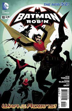 ScienceFiction.com Comic Book Review: 'Batman And Robin' #10