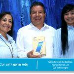 Tenemos ganadores de tabletas Samsung GALAXY Tab 3, especial de activación enero 2014.