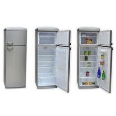 Réfrigérateur Combiné Continental Edison CEF2D304SV - Classe A+ Argenté(e)