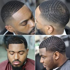 25 Best Waves Haircuts (2021 Guide) Low Haircuts, Very Short Haircuts, Black Men Haircuts, Black Men Hairstyles, Celebrity Hairstyles, Low Taper Fade Haircut, Drop Fade Haircut, Tapered Haircut, Bald Fade With Waves