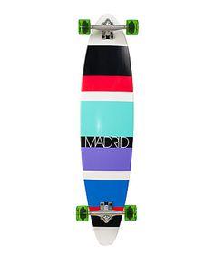 Longboard B2 B Stripes by Madrid Skateboards  Longboarden# engelhornsports#