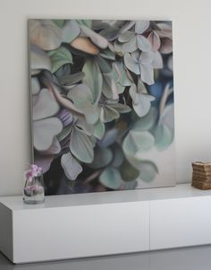 Hydrangea painting by Leanne Thomas - gorgeous!