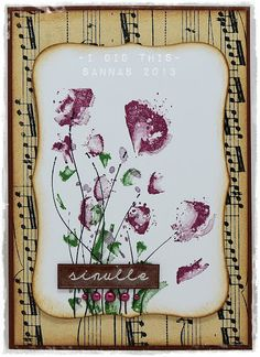 korttipaja SannaS: sinulle kukkasin...