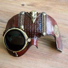 Hey, I found this really awesome Etsy listing at http://www.etsy.com/listing/128147906/bird-skull-steampunk-mask-with-tinted