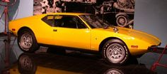 1971 DE TOMASO Pantera  Formerly owned by Elvis Presley