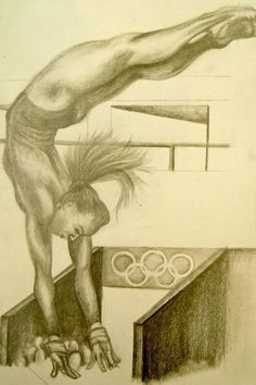 1000 images about gymnastics drawing