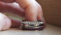 Hey, I found this really awesome Etsy listing at https://www.etsy.com/listing/212518685/personalized-name-ring-birthstone