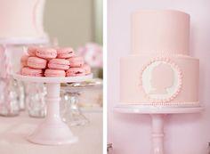 Pink Silhouette Birthday Party - PRECIOUS!