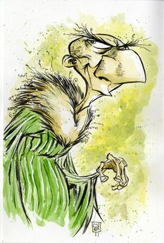 The Vulture by *skottieyoung Cartoons & Comics / Traditional Media / Comics / Pages ©2011-2012 *skottieyoung