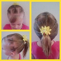 Toddler hair, girly hair. Toddler hairstyles