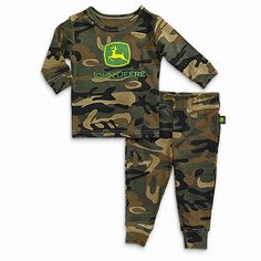 John Deere Infant Through Boys 2 Piece Brown Camo Pajama Set John Deere Kids, John Deere Baby, Boys Pjs, Kids Pajamas, Baby Boy Camo, Baby Boy Newborn, Camo Outfits, Baby Boy Outfits, Cut Sweatshirts
