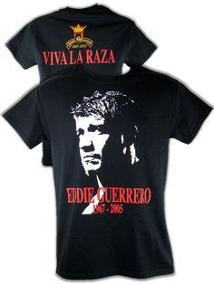 Warrior Paint, Men's Wrestling, Eddie Guerrero, Stone Cold Steve, Yellow T Shirt, Red Logo, Superstar, Mens Tops, Shirts
