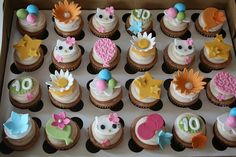 Hello Kitty Cake Cupcakes by creative and delicious sweets (Sandy), via Flickr