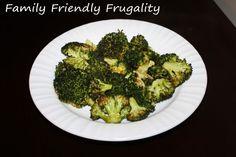 Savory Roasted Broccoli. Kid Friendly!