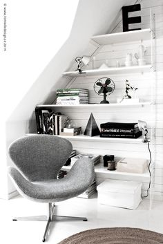 Photo: Johanna Eklöf/Formelle Design www.formelledesign.se Swan Chair
