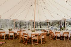 How amazing does this wedding tent by look 😍 You can view it in real life at The Wedding Fair August Chair Hire, Wooden Folding Chairs, Party Hire, Wedding Fair, Vintage Table, Instagram Feed, Real Life, Coast, Patio