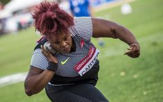 Olympian Michelle Carter hoping to travel golden road to Rio ...