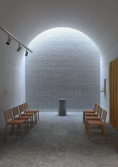 Johan Celsing Arkitektkontor ― The New Crematorium, The Woodland Cemetery, Stockholm, Sweden