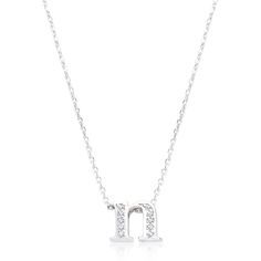 Pave Initial N Pendant This Is very pretty..:)