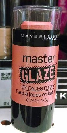 Maybelline Master Glaze Barely Pink- Nars Multiple in Orgasm dupe