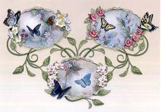 Lena Liu Butterfly Plates