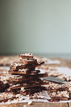 English Toffee.  My teeth hurt just looking at it.  But I would still totally eat it!