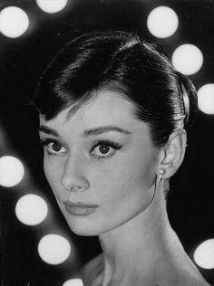 Audrey Hepburn fotografiada por Allan Grant, 1956