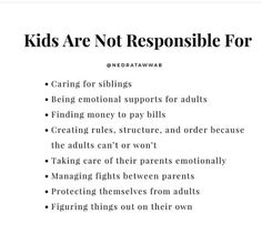 Trauma, Ptsd, Inner Child Healing, Mental And Emotional Health, Emotional Intelligence, Healthy Relationships, Kids And Parenting, Self Help, Life Quotes