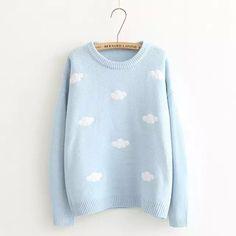 Cloud Applique Sweater awww so cute
