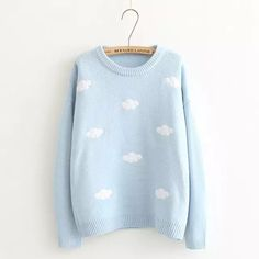 Cloud Applique Sweater