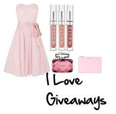 """I love giveaways"" by nicoleshine12 ❤ liked on Polyvore featuring Kaliko, Gucci and Givenchy"