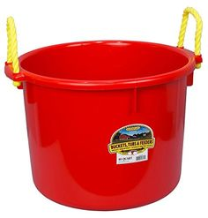 Little Giant Muck Tub 40Quart Red -- Check this awesome product by going to the link at the image.