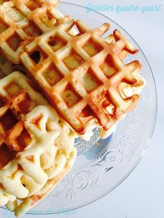 Thermomix Desserts, Dessert Recipes, Good Morning Breakfast, Waffle Bar, Waffle Recipes, Other Recipes, Biscuits, Bakery, Food And Drink