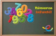 Los Números: Conoce y repasa los números en Educación infantil