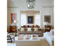 Veere Grenney Associates - Private Residence London - Drawing Room - Photography: Simon Upton