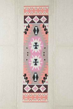 For the kitchen: Plum & Bow Karakum Printed Rug - Urban Outfitters Sink Accessories, Decorative Accessories, Peach Bathroom, Fragrant Candles, Floral Shower Curtains, House On The Rock, Throw Rugs, Accent Colors, Graphic Prints