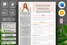 Cover Letter Format, Cover Letter Template, Letter Templates, Resume Layout, Resume Cv, Resume Writing, Resume Design Template, Creative Resume Templates, Cv Template