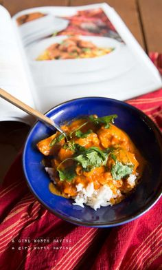 Paleo Chicken Tikka Masala // AGirlWorthSaving.net