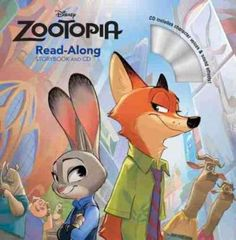 A series of books at various reading levels are publishing to coincide with the Walt Disney Animation Studios' Spring 2016 film release of Zootopia that follows the adventures of a fast-talking fox wh