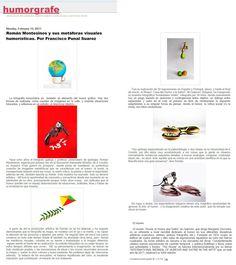Román Montesinos y sus metáforas visuales humorísticas. Por Francisco Punal Suarez