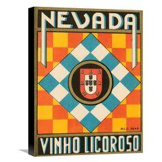 Global Gallery Nevada Vinho Licorso Wall Art - GCS-375137-